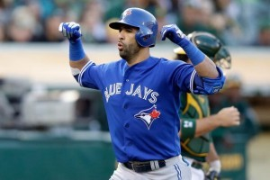Baseball betting in Canada Bautista