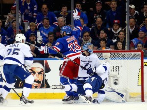 Tampa Bay Lightning v New York Rangers - Game One