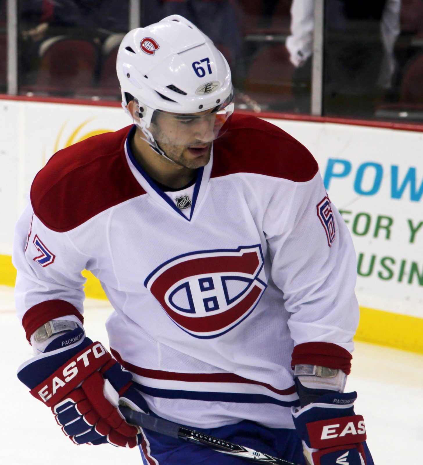 Max Pacioretty of Montreal Canadiens