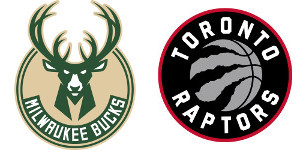 Milwaukee Bucks Toronto Raptors