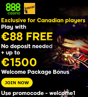 888casino Canadian Promo