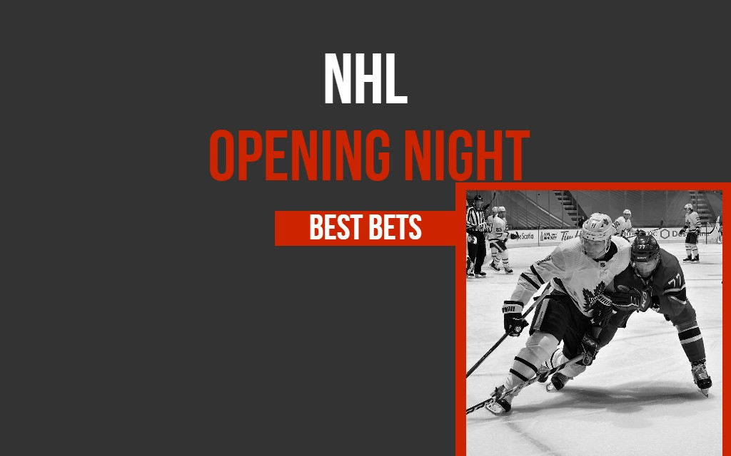NHL Opening Night Best Bets: Leafs, Canucks Offer Value