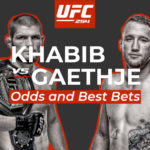 UFC 254 Odds and Best Khabib Nurmagomedov vs Justin Gaethje Prop Bets